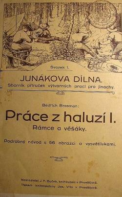 Práce z haluzí I. - rámce a věšáky