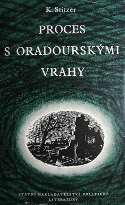Proces s oradourskými vrahy obálka knihy