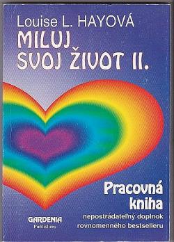 Miluj svoj život II. - pracovná kniha obálka knihy