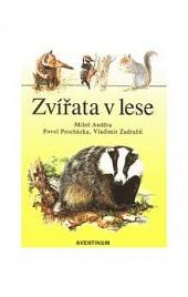 Zvířata v lese obálka knihy