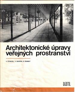Architektonické úpravy veřejných prostranství obálka knihy