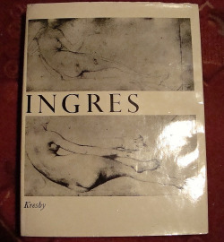 Ingres kresby obálka knihy