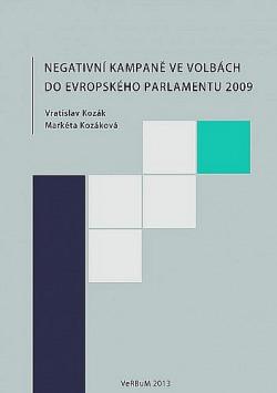 Negativní kampaně ve volbách do Evropského parlamentu 2009 obálka knihy