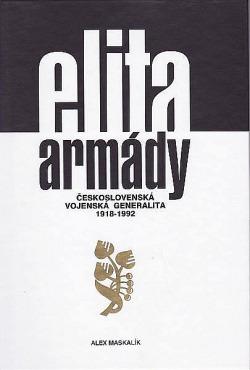 Elita armády: Československá vojenská generalita 1918-1992 obálka knihy