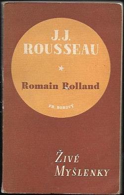 Nesmrtelné stránky J.J.Rousseaua obálka knihy