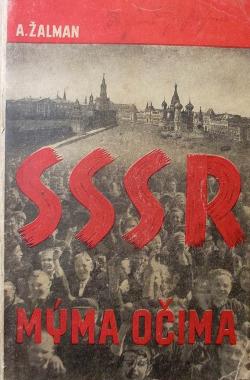 SSSR mýma očima obálka knihy