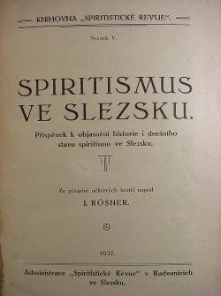 Spiritismus ve Slezsku