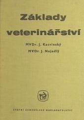Základy veterinářství obálka knihy