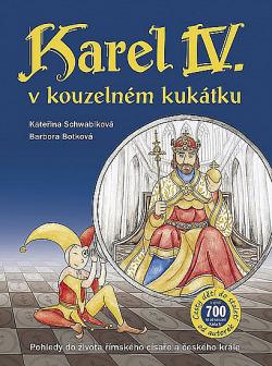 Karel IV. v kouzelném kukátku obálka knihy