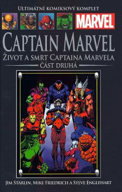 Captain Marvel: Život a smrt Captaina Marvela, část 2. obálka knihy