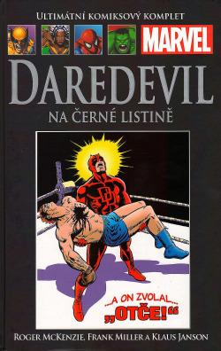Daredevil: Na černé listině obálka knihy