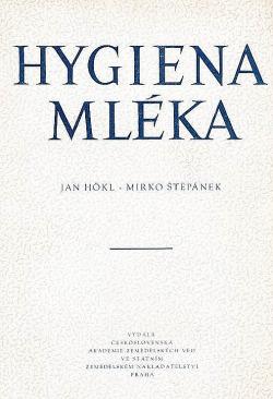 Hygiena mléka obálka knihy