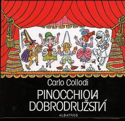 Pinocchiova dobrodružství obálka knihy