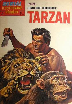 Tarzan - ilustrované příběhy obálka knihy