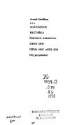 Agátománie ; Biletářka ; Červená knihovna ; Jeden den ; Jedna noc aneb Sen