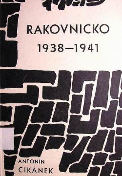 Rakovnicko 1938-1941 obálka knihy