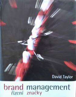 Brand management - řízení značky obálka knihy