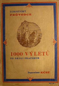 1000 výletů po okolí pražském obálka knihy