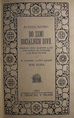 Do zemí sociálních divů obálka knihy