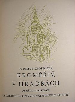 Kroměříž v hradbách obálka knihy