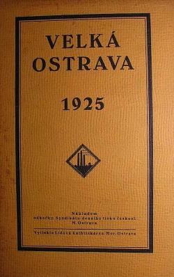 Velká Ostrava obálka knihy