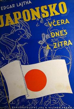 Japonsko - včera dnes a zítra obálka knihy