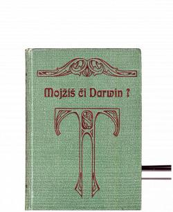 Mojžíš či Darwin? obálka knihy