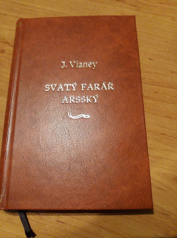 Svatý farář arsský obálka knihy