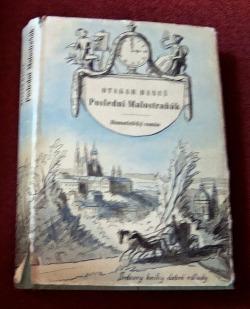 Poslední Malostraňák obálka knihy