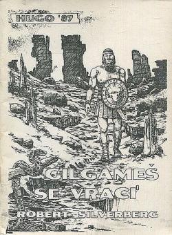 Gilgameš se vrací obálka knihy