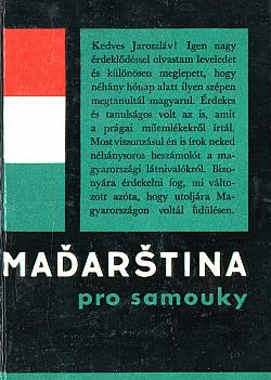 Maďarština pro samouky obálka knihy