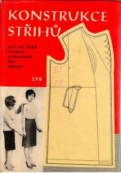 Konstrukce střihů pro I. a II. ročník středních průmyslových škol oděvních obálka knihy