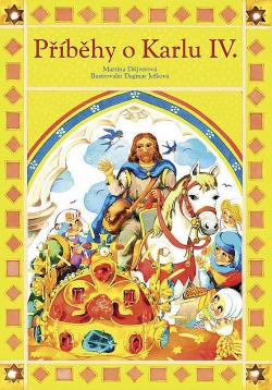 Příběhy o Karlu IV. obálka knihy
