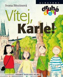 Vítej, Karle! obálka knihy