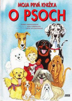 Moja prvá knižka o psoch obálka knihy