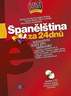 Španělština za 24 dnů obálka knihy