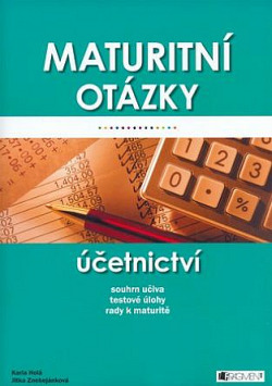 Maturitní otázky - Účetnictví obálka knihy