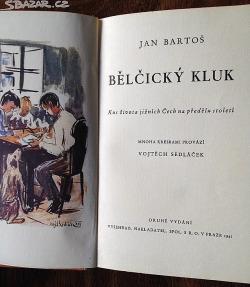 Bělčický kluk obálka knihy