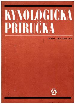 Kynologická příručka obálka knihy