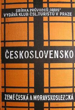 Průvodce po Československé republice - Země česká a moravskoslezská obálka knihy