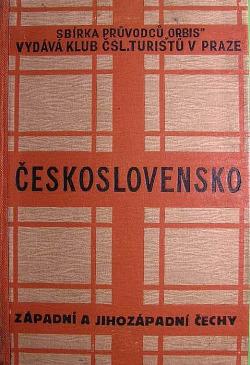 Průvodce po Československé republice - Západní a jihozápadní Čechy obálka knihy
