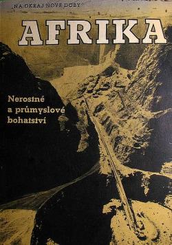 Afrika - nerostné a průmyslové bohatství obálka knihy