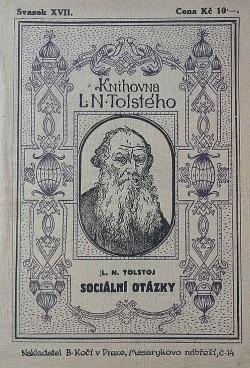 Sociální otázky obálka knihy