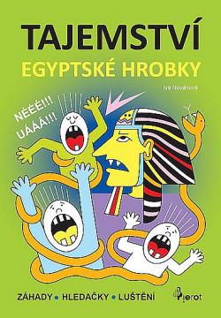 Tajemství egyptské hrobky obálka knihy