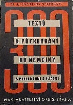 300 textů k překládání do němčiny obálka knihy
