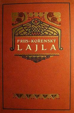 Lajla - národopisný obraz z laponských krajů obálka knihy