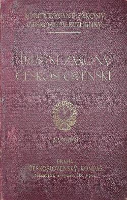 Trestní zákony Československé