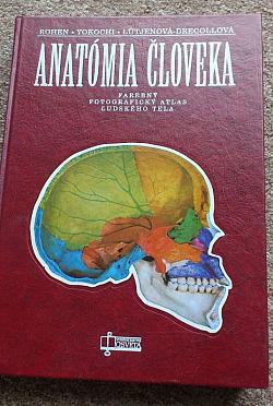 Anatómia človeka obálka knihy