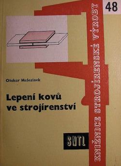 Lepení kovů ve strojírenství obálka knihy