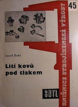 Lití kovů pod tlakem obálka knihy